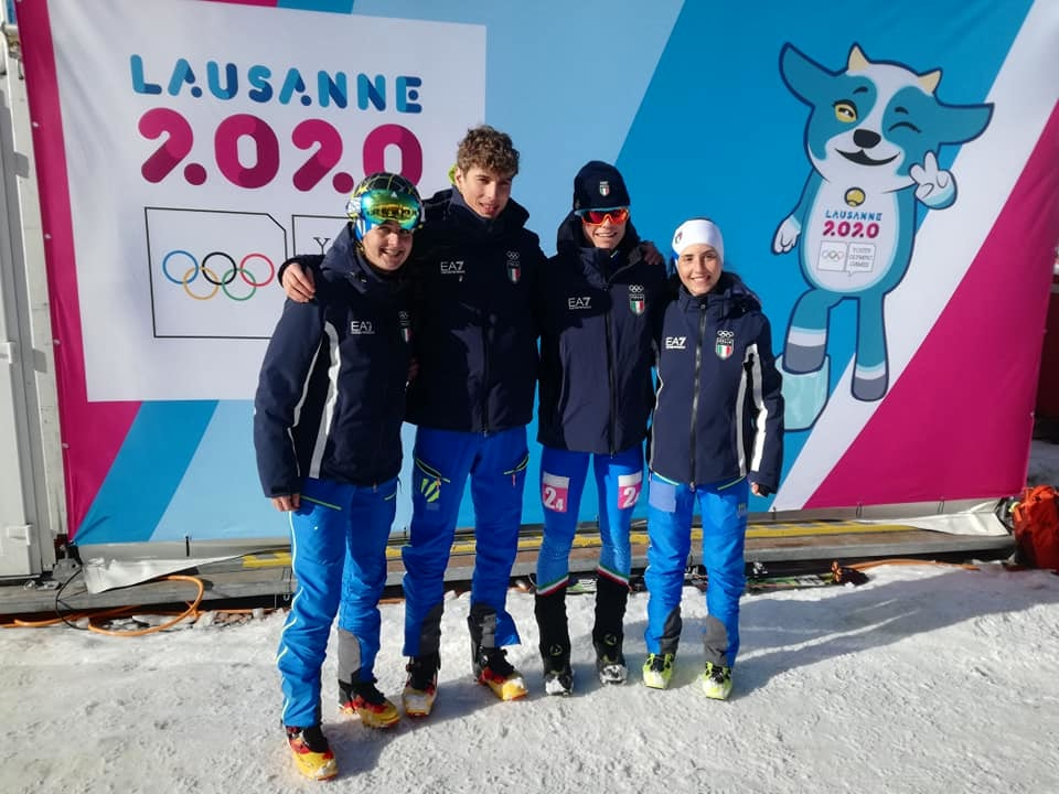 sci alpinismo Italia olimpiadi giovanili