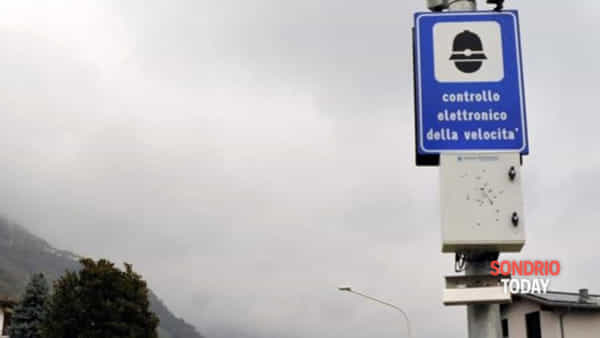 Chiavenna, a breve l'accensione dell'autovelox di via Volta