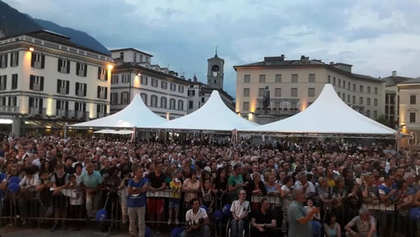 VIDEO| L'intervento di Salvini in Piazza Garibaldi a Sondrio