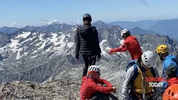 «Ciao Berna», disperse sul Pizzo Badile le ceneri della celebre guida alpina