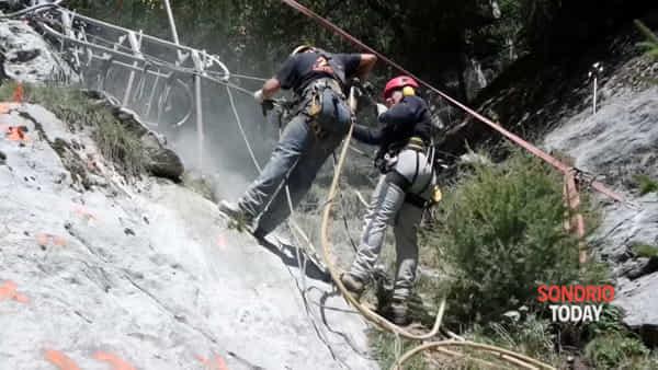Continuano i lavori sul Ruinon, dalla Regione un appello a Roma perché intervenga