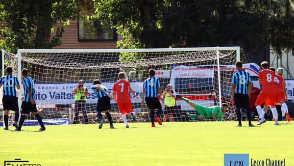 """Calcio: al Sondrio non bastano voglia e De Respinis. Il Lecco passa alla """"Castellina"""""""