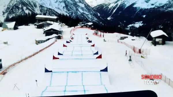 Chiesa in Valmalenco, tutto pronto al Palù per la Coppa del Mondo di Snowboard cross