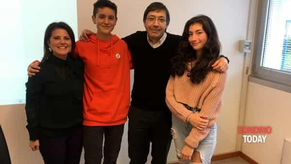 Il neopresidente della Cps, Filippo Foppoli, e la vicepresidente Alida Maspes insieme al dirigente Ust Fabio Molinari e alla docente referente Maria Maddalena Ricciardi-2