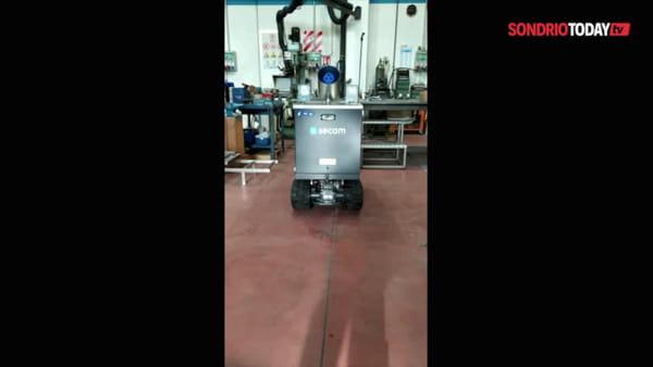 """Coronavirus, da Secam un robot """"made in Valtellina"""" per sanificare gli ambienti contaminati"""