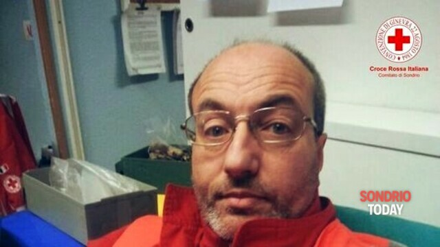 The Red Cross of Sondrio mourns the death of Mirco Paganoni thumbnail