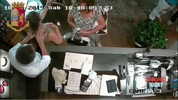 Sondrio, concluse le indagini sul furto con destrezza in gioielleria: arrestata anche la seconda ladra