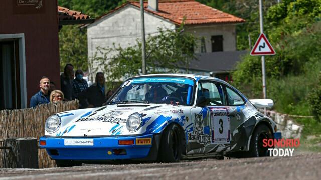Da Zanche returns to the Tricolore on Porsche at the Rally Vallate Aretine thumbnail